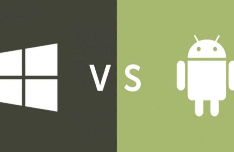Какая ОС для планшета лучше Windows VS Android