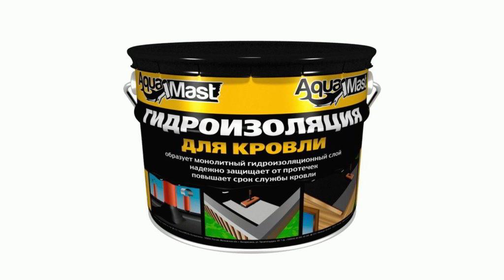 Мастика Битум-резиновая AquaMast 3 кг