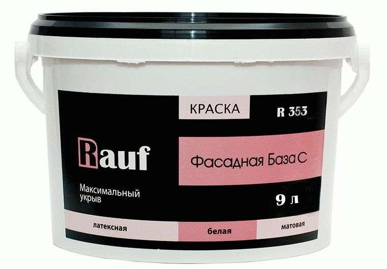 Краска фасадная RAUF R353