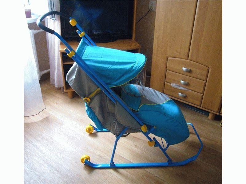 Топ-рейтинг детских самых лучших санок-колясок
