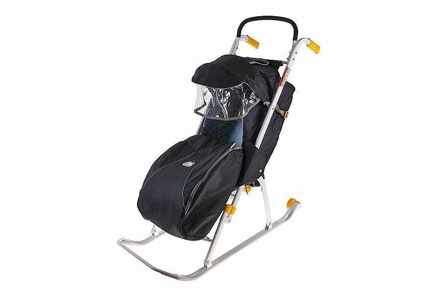 Детские санки-коляски: лучшие модели 2020 года