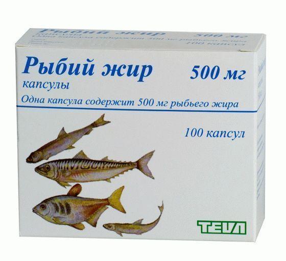 Рыбий жир Teva