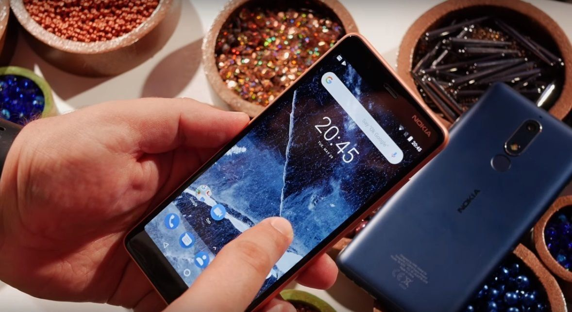 Смартфон Nokia 5.1 16GB — достоинства и недостатки