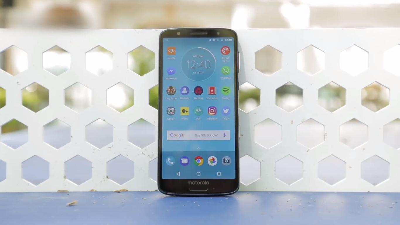 Смартфон Motorola Moto G6 32GB — достоинства и недостатки