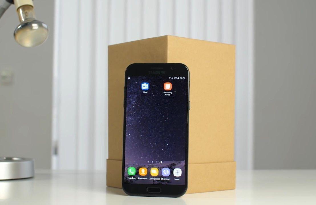Смартфон Samsung Galaxy A7 (2017) – достоинства и недостатки