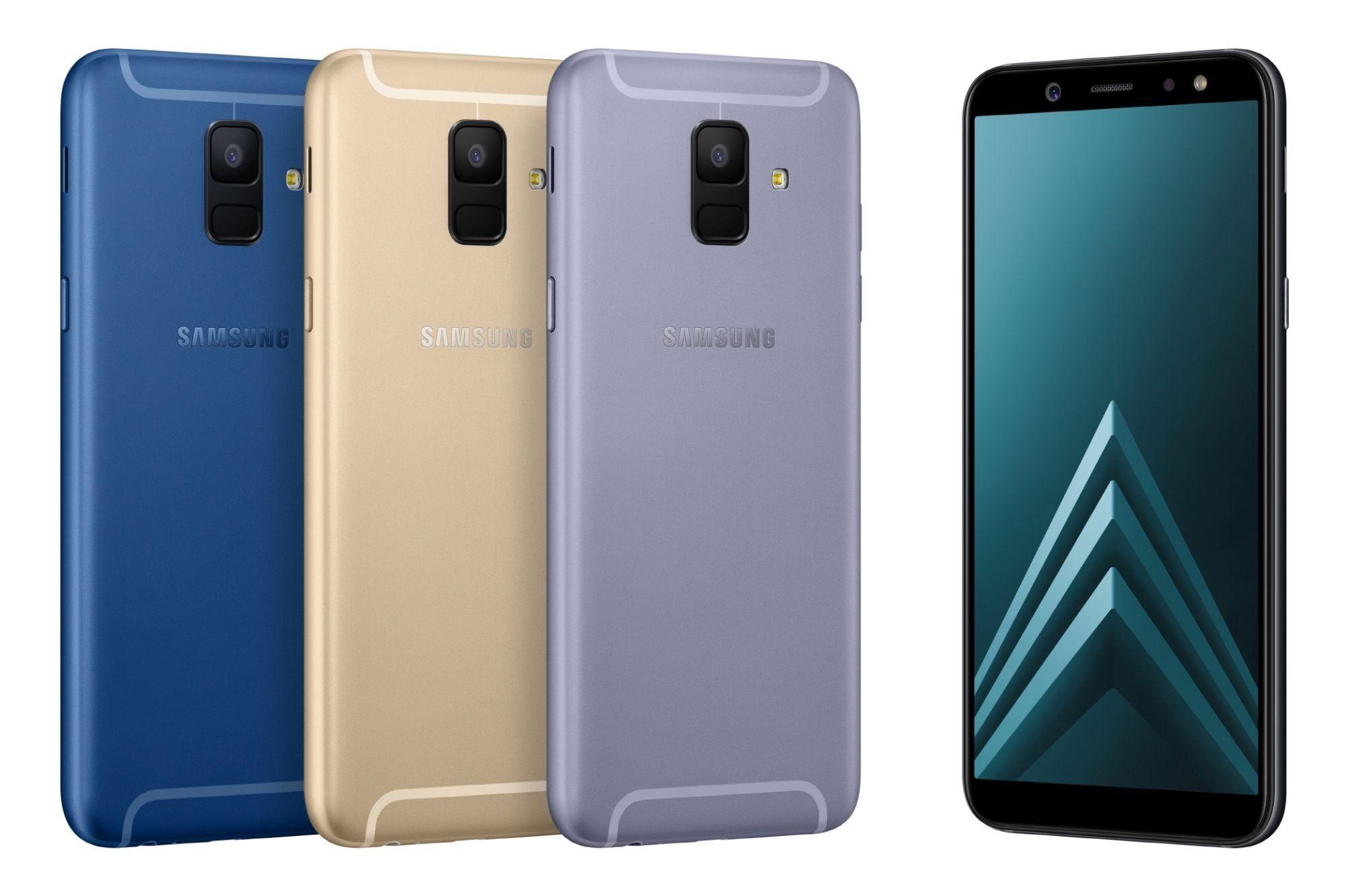 Сравнение Samsung Galaxy A6 и Samsung Galaxy A6+