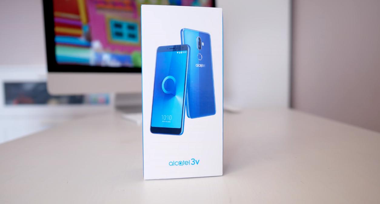 Смартфон Alcatel 3V 5099D — достоинства и недостатки