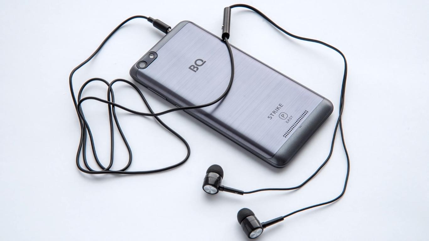 Смартфон BQ BQ-5058 Strike Power Easy — достоинства и недостатки