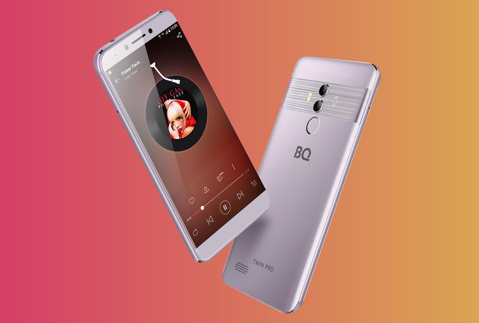 Смартфон BQ-5517L Twin Pro — достоинства и недостатки