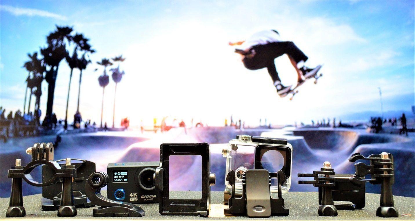 Обзор лучших экшн-камер Digma в 2021 году