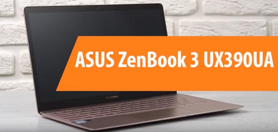 Обзор ноутбука ASUS ZenBook 3 UX390UA — достоинства и недостатки