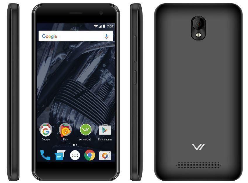 Смартфон VERTEX Impress Wolf — достоинства и недостатки