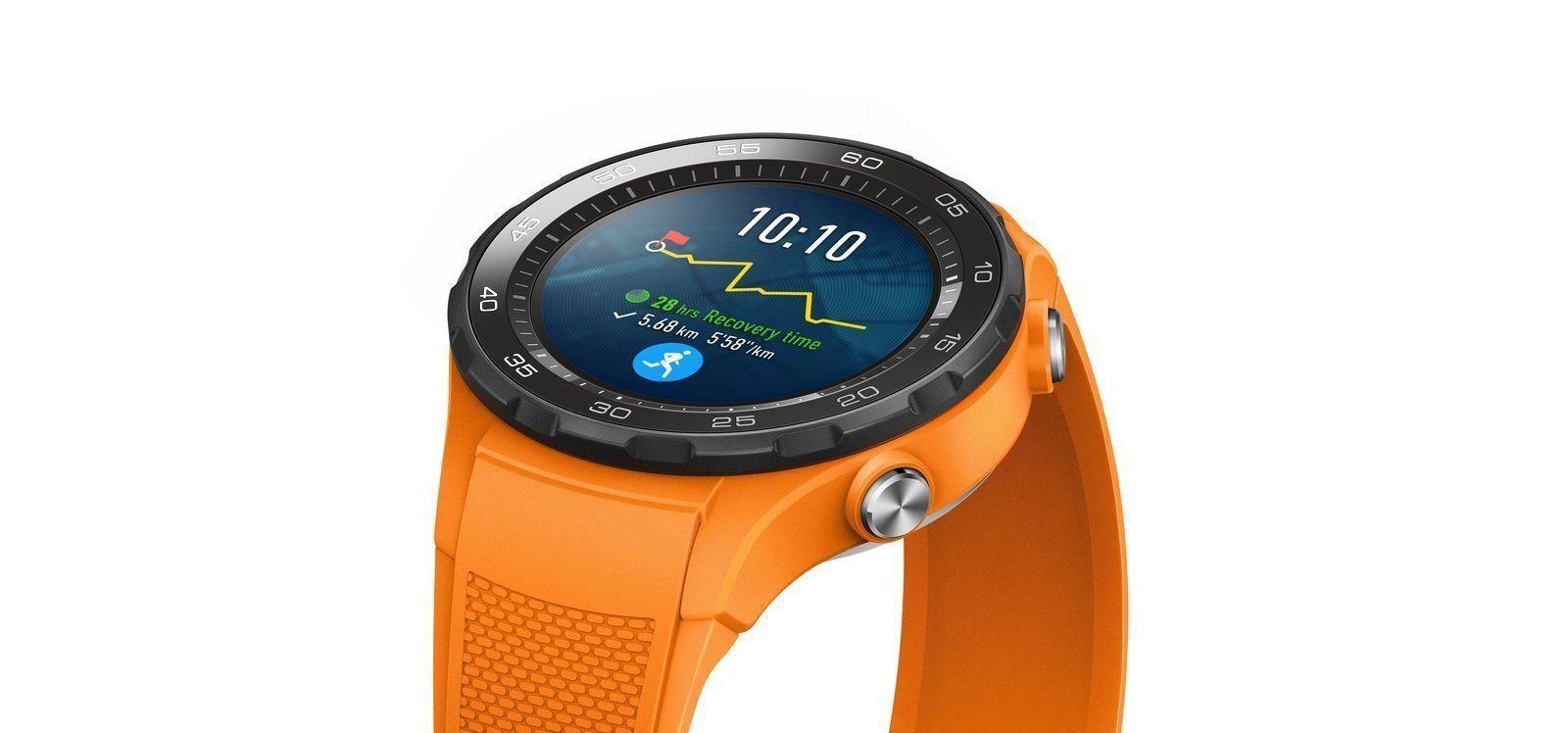 Умные часы Huawei Watch 2 Sport — достоинства и недостатки