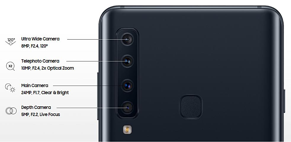 Samsung Galaxy A9, обзор модели 2018 года, достоинства и недостатки