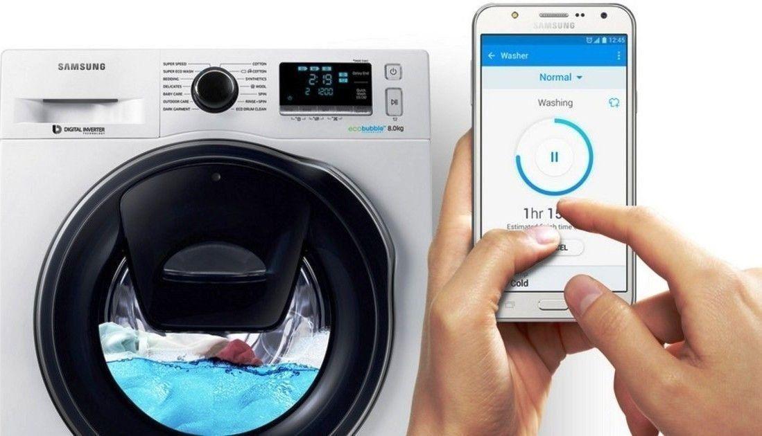 Samsung: стиральные машины с интеллектом