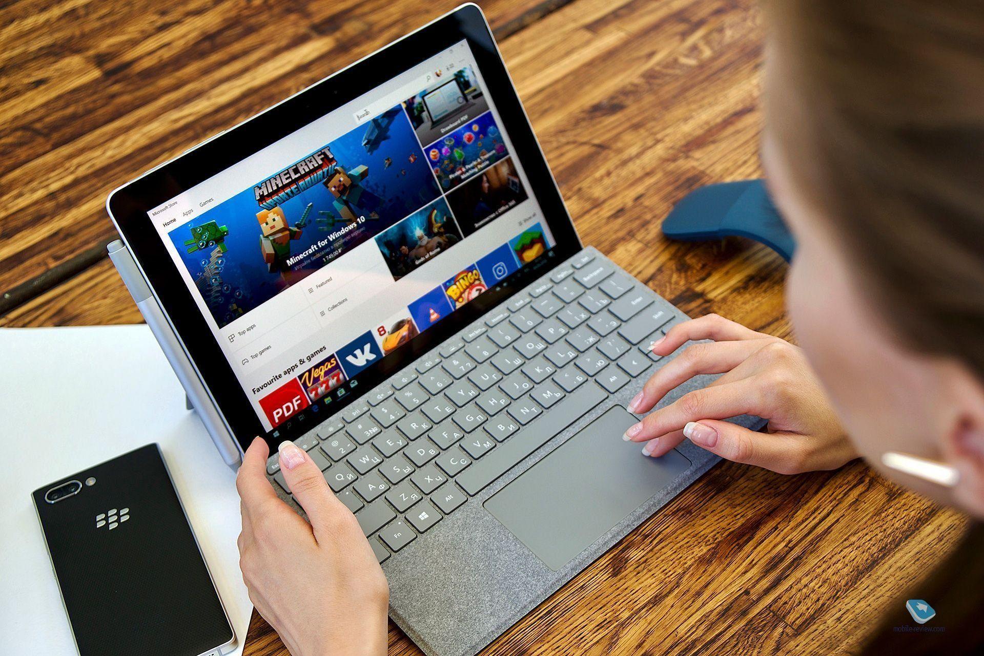 Обзор планшетного компьютера Microsoft Surface Go: достоинства и недостатки