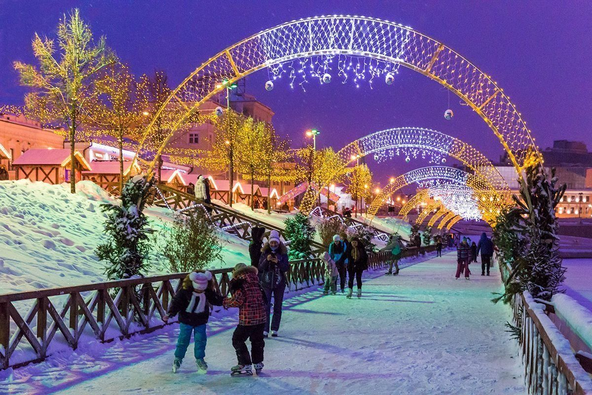 Катки Казани 2021: открытые и закрытые площадки