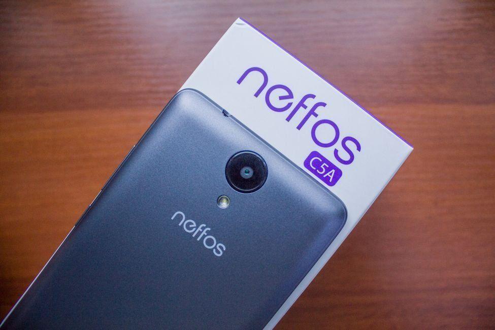 Смартфон TP-LINK Neffos C5A — достоинства и недостатки