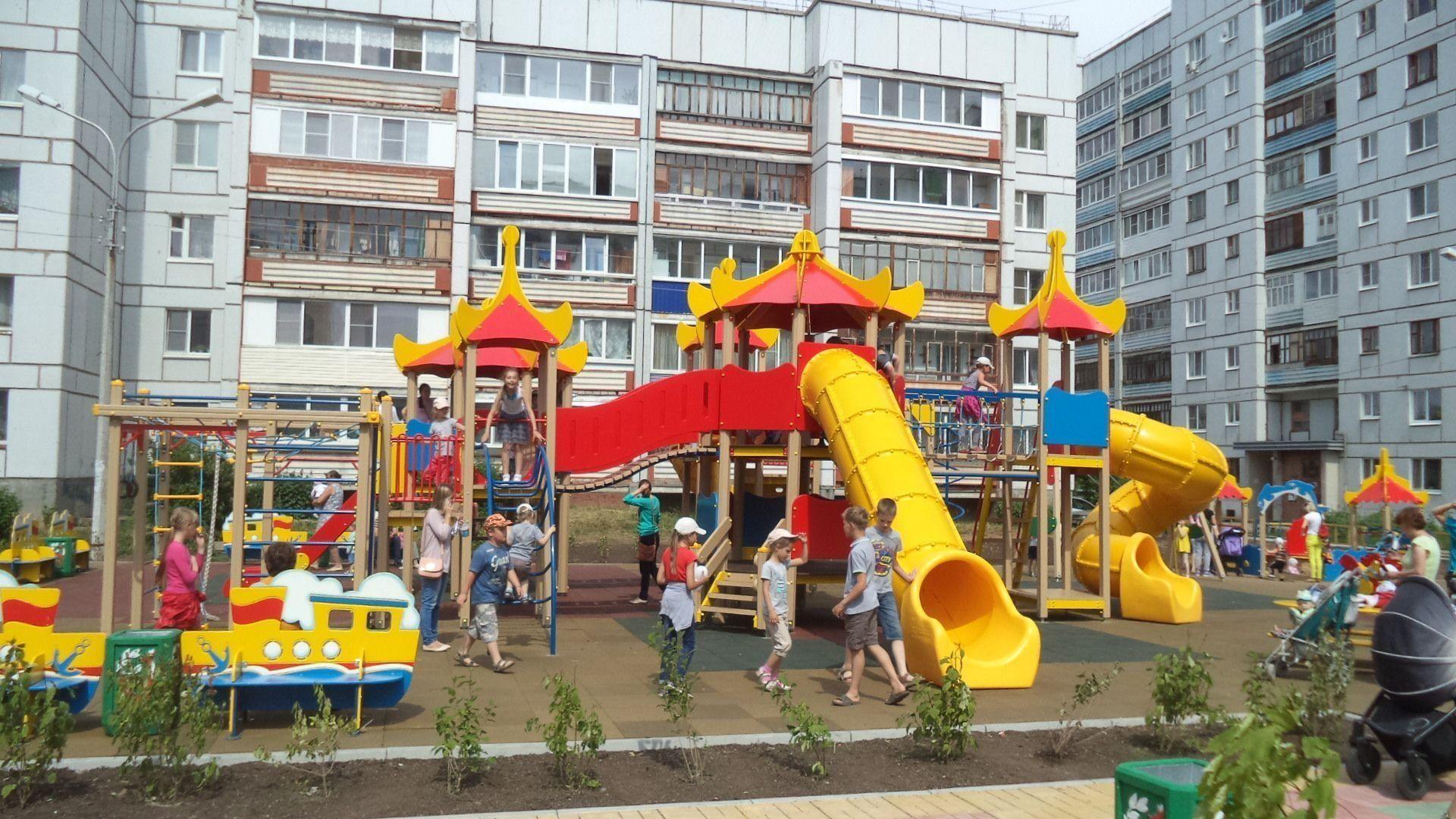 Самые лучшие детские площадки Санкт-Петербурга в 2020 году