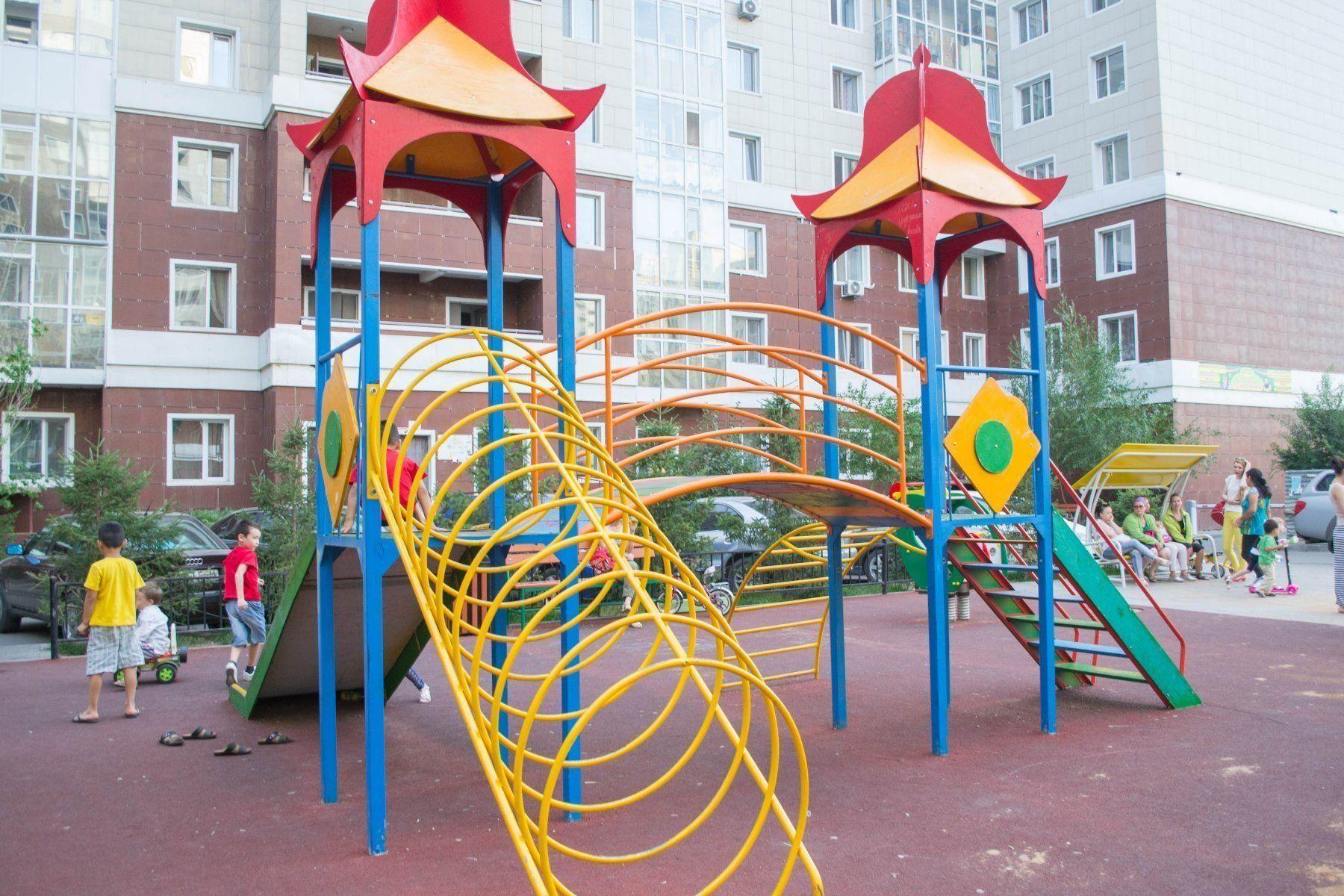 Самые лучшие детские площадки Казани в 2020 году