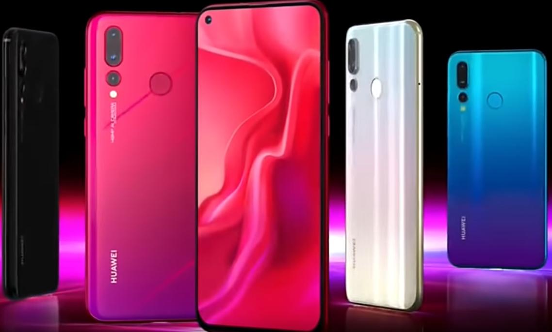 Смартфон Huawei nova 4 – настоящий зверь для молодого поколения