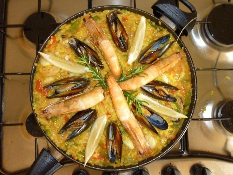 Лучшие сковороды для паэльи и ризотто в 2021 году