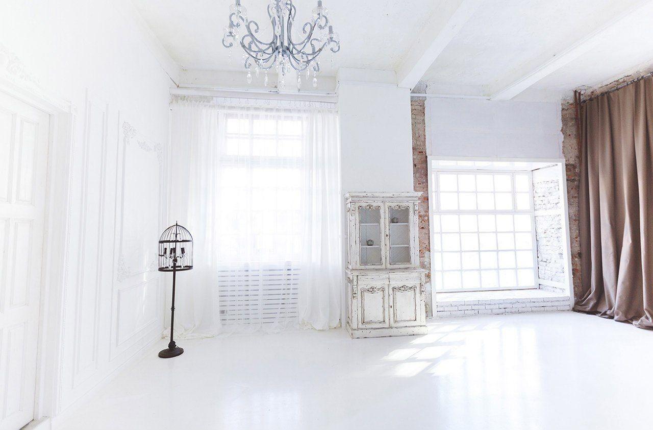 белая студия для фотосессии в москве основном
