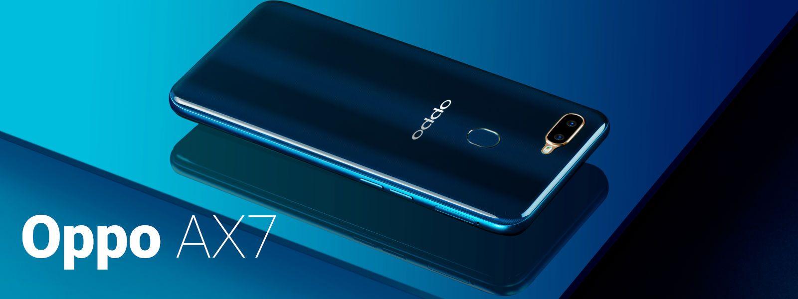 Смартфон OPPO AX7 — достоинства и недостатки