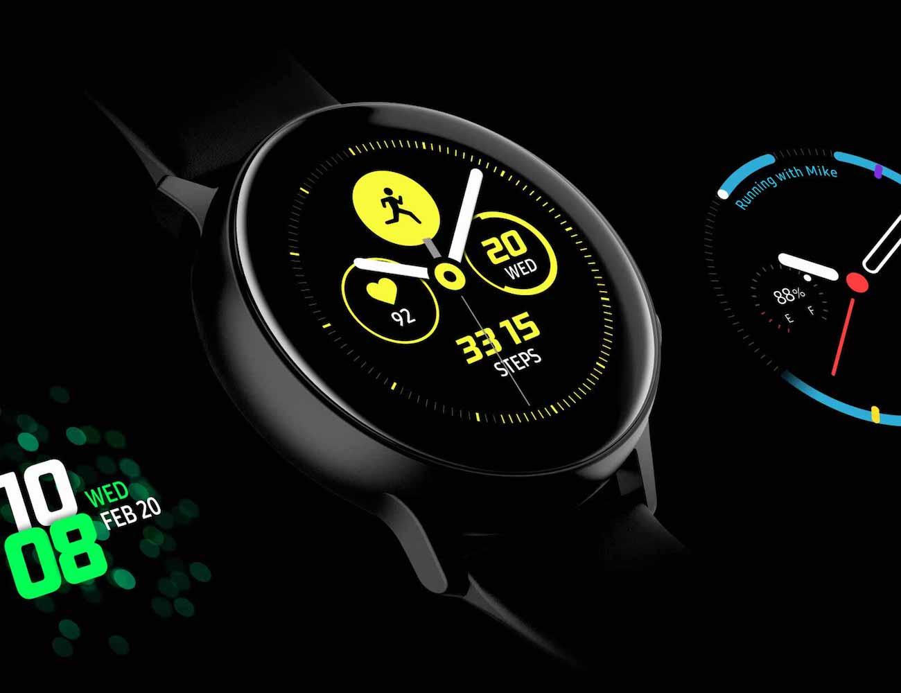 Умные часы Samsung Galaxy Watch Active — достоинства и недостатки
