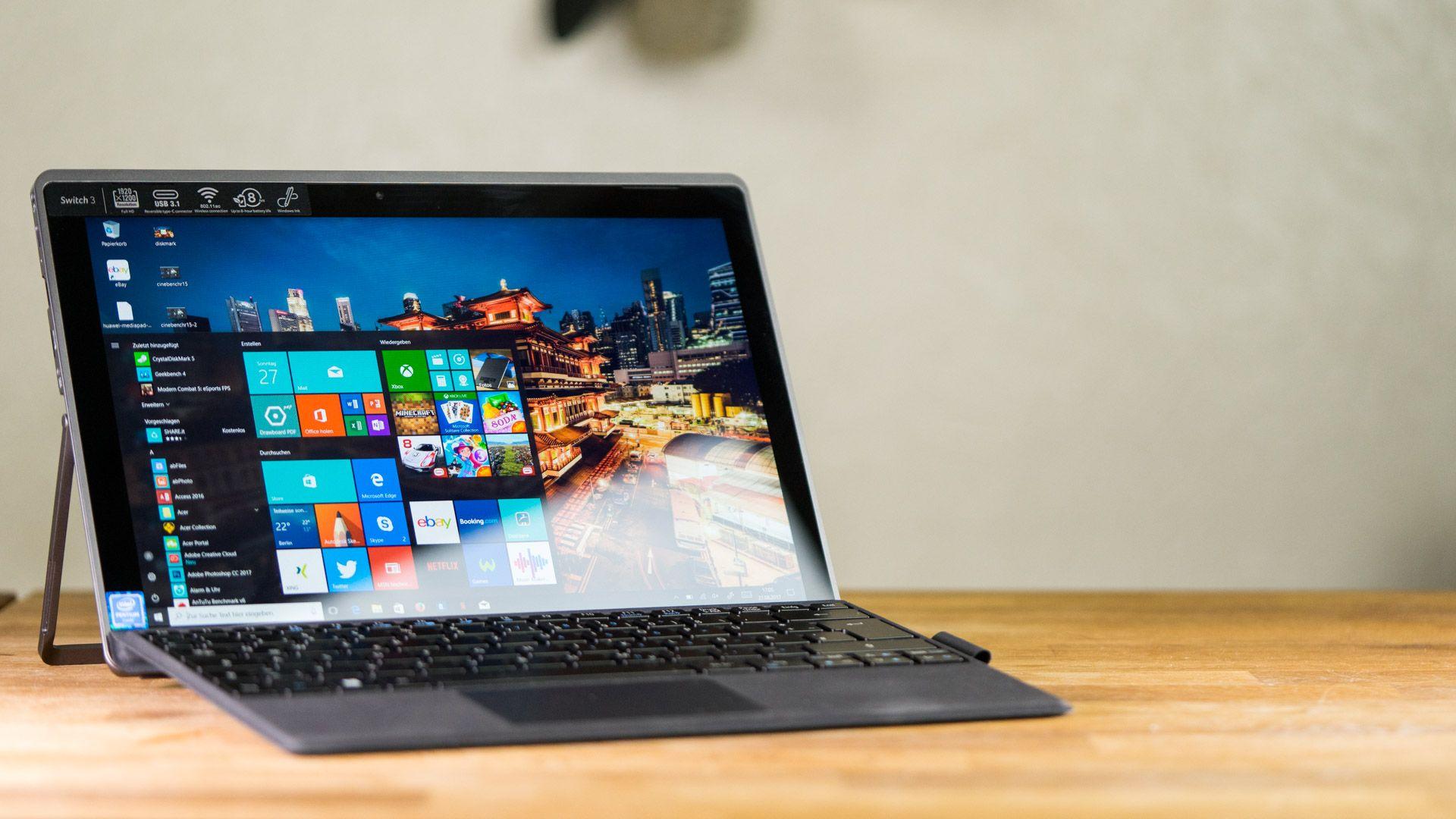 Планшет Acer Switch 3: Элегантность и производительность