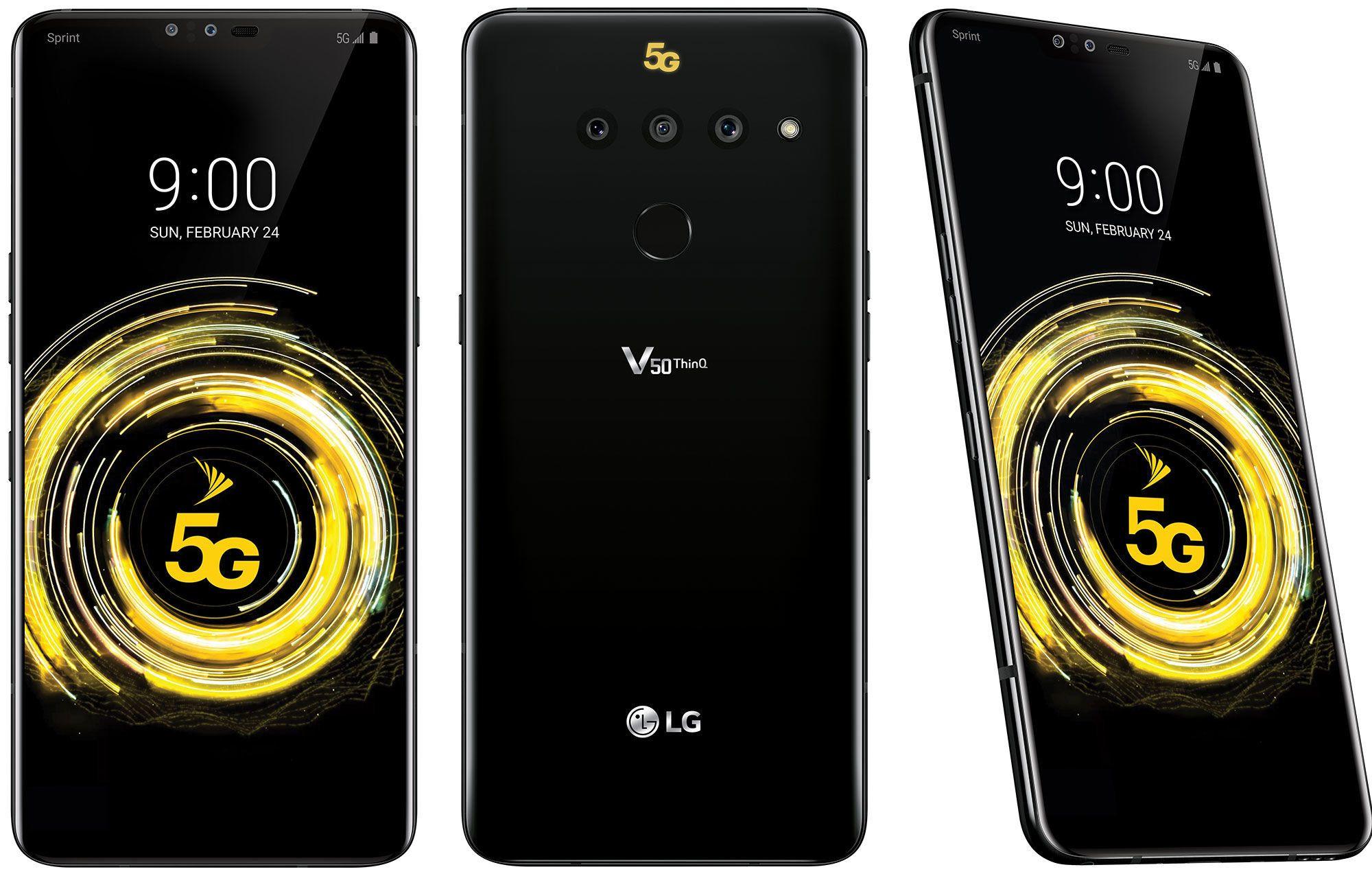 Смартфон LG V50 ThinQ 5G — достоинства и недостатки