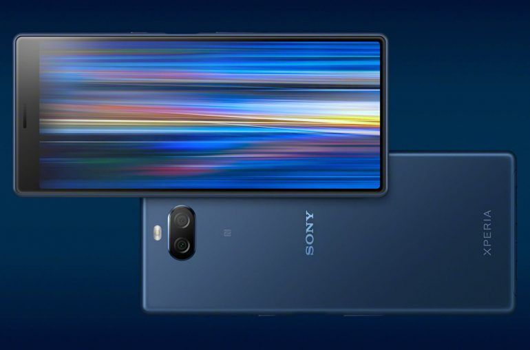 Смартфон Sony Xperia 10 Plus — достоинства и недостатки