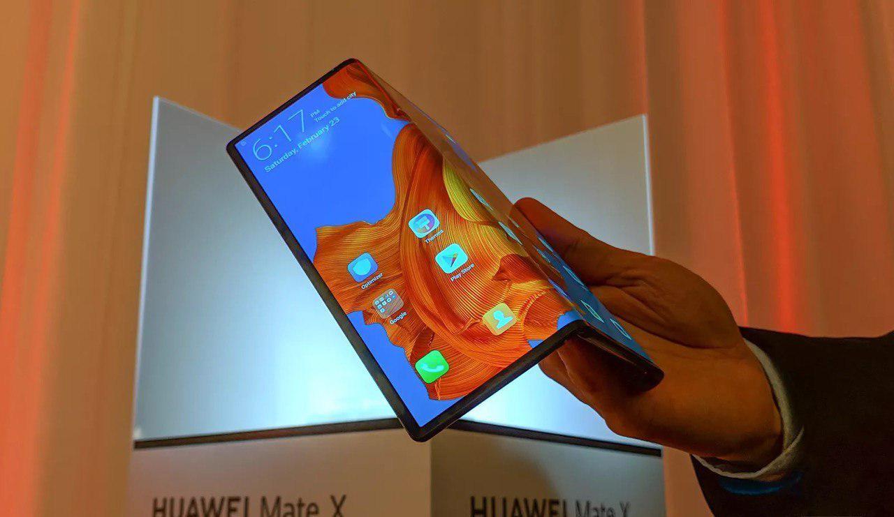 Складной смартфон Huawei Mate X — достоинства и недостатки