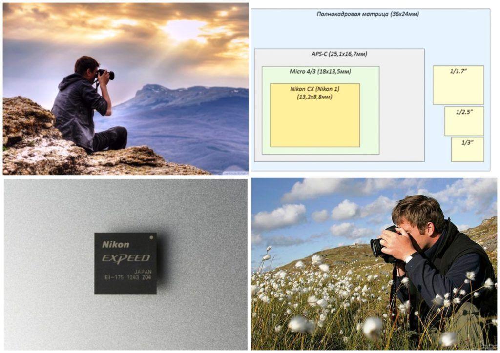 чем больше матрица тем лучше качество фото точно