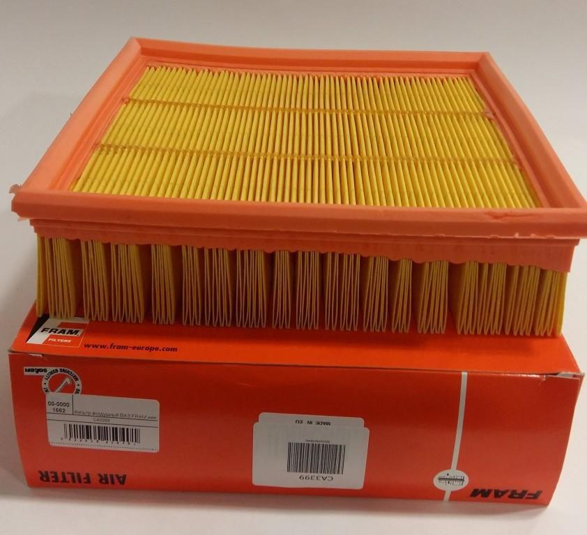 sa3399 - Тест воздушных фильтров двигателя