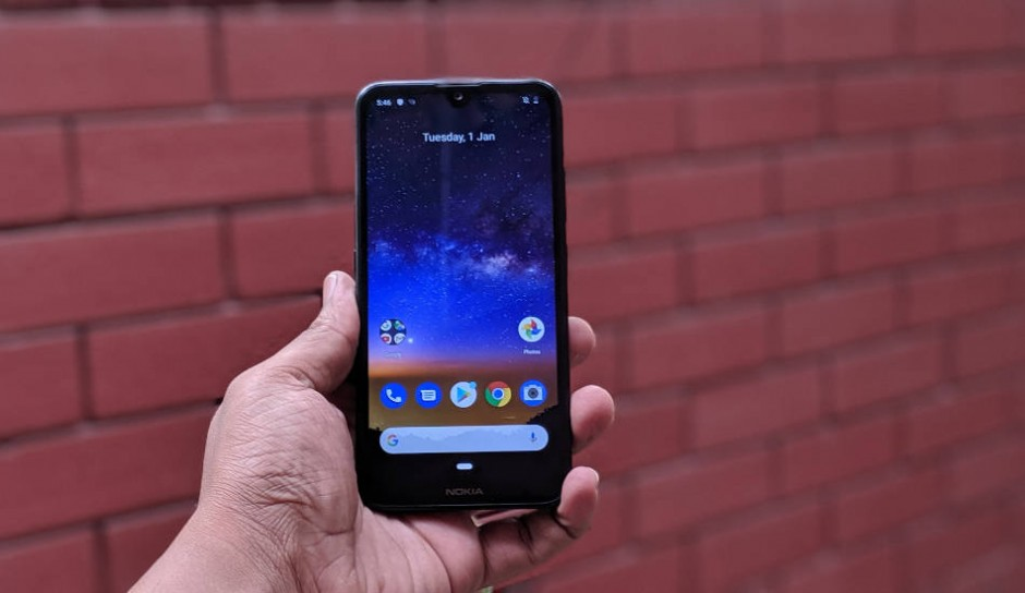 Смартфон Nokia 2.2 — достоинства и недостатки