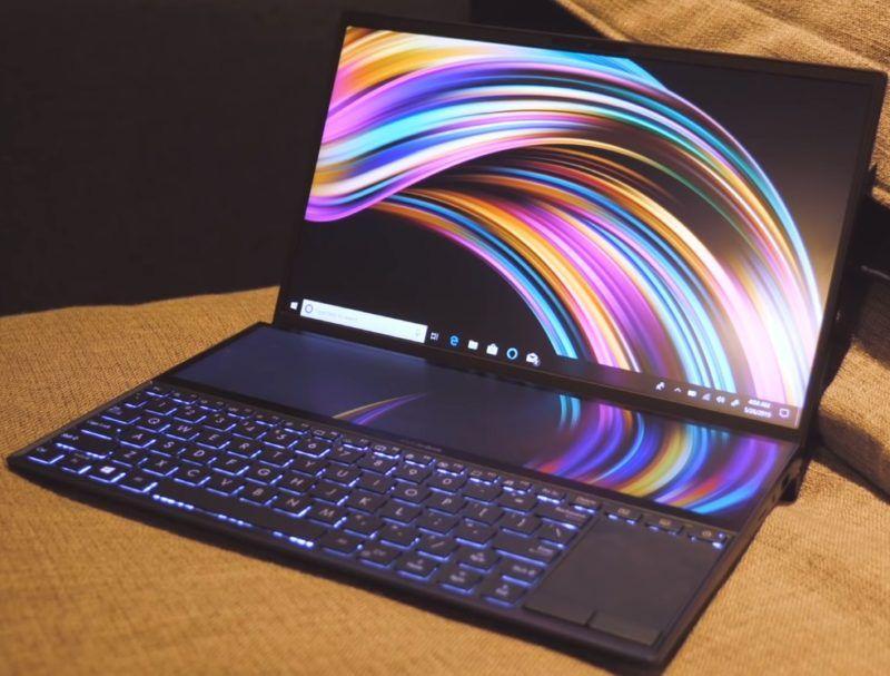 Ноутбуки Asus ZenBook Pro Duo с двумя экранами