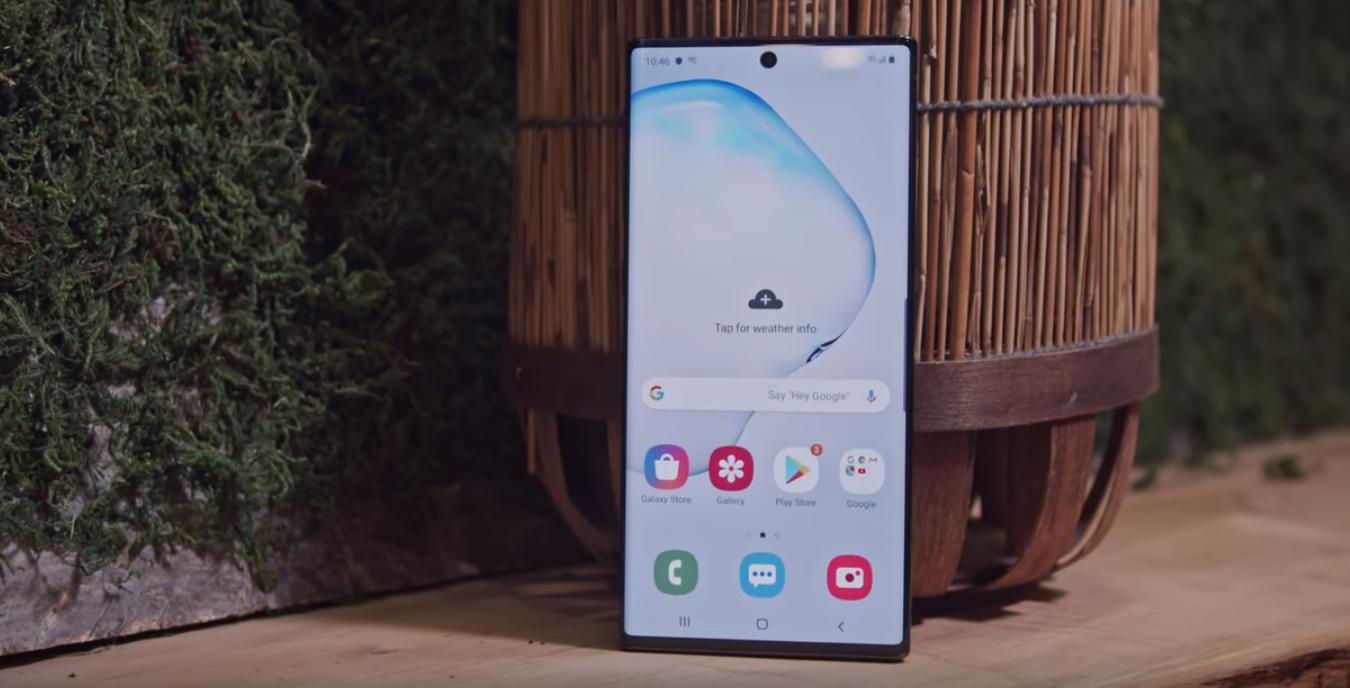 Смартфон Samsung Galaxy Note 10+: достоинства и недостатки