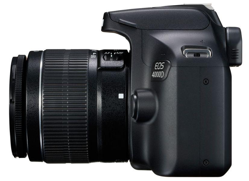 Обзор цифрового фотоаппарата Canon EOS 4000D Kit