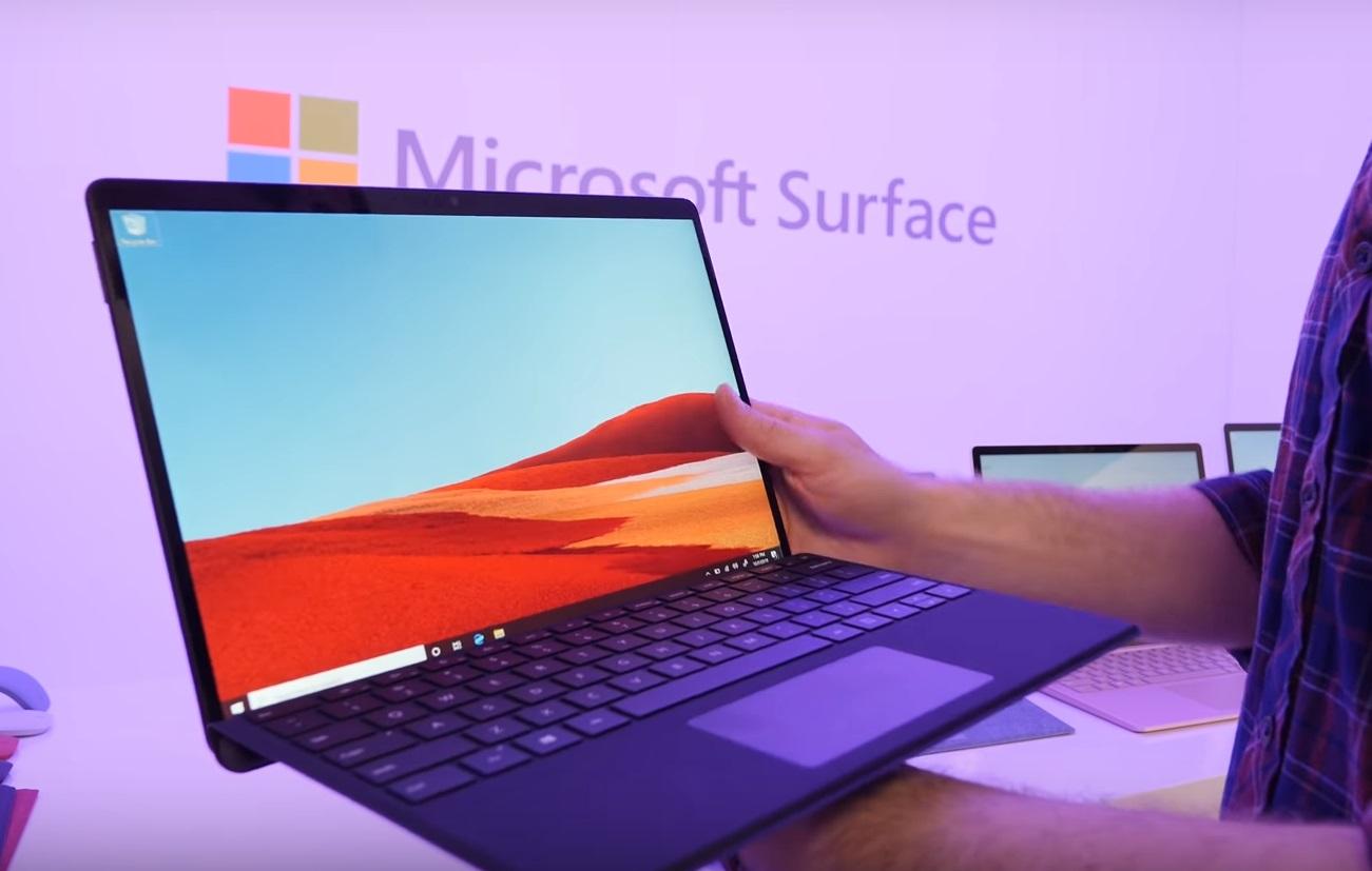 Обзор ноутбуков Surface Laptop 3, Surface Pro 7 и Surface Pro X