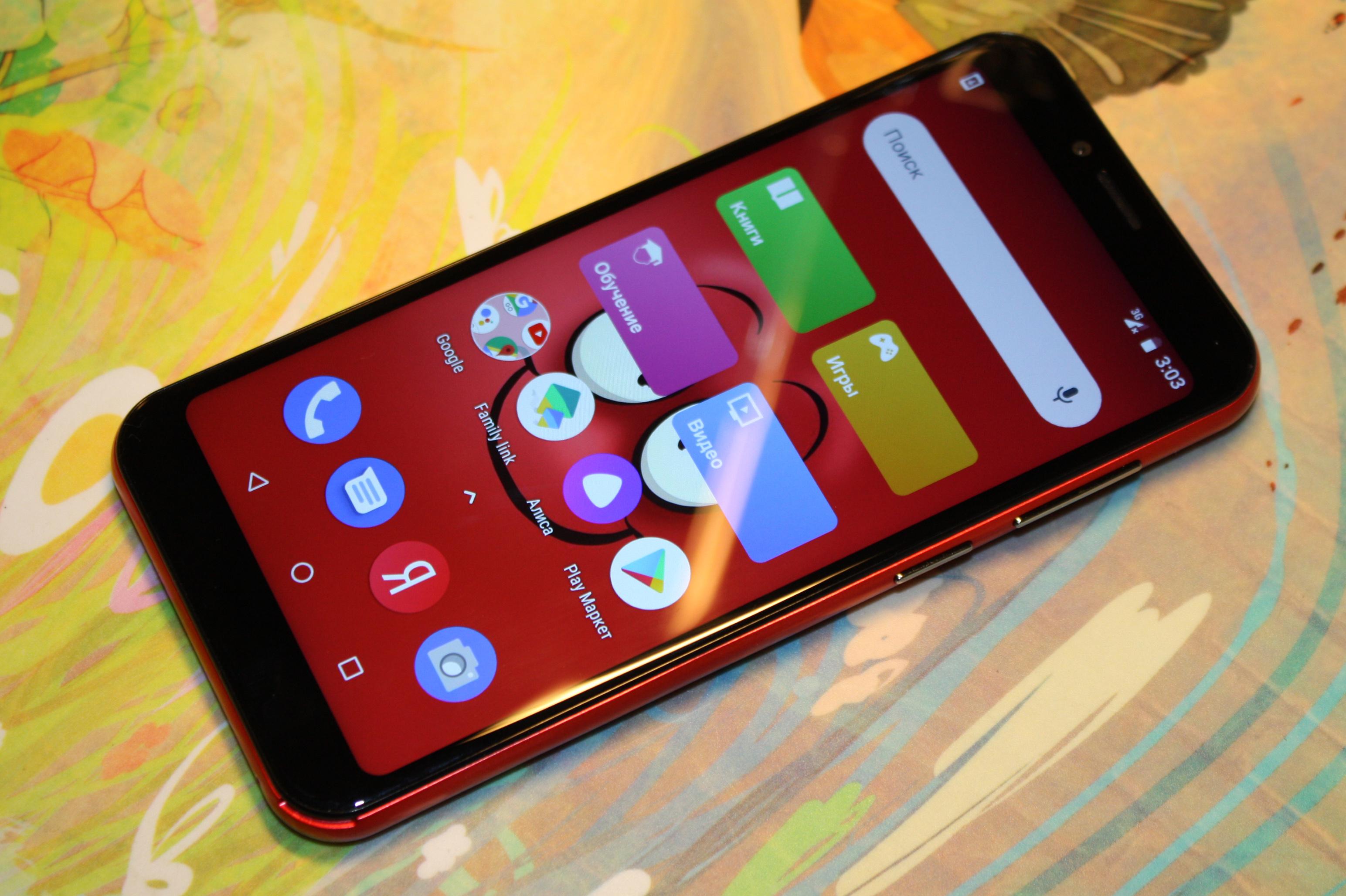 Обзор детского смартфона INOI kPhone (INOI 5i Lite)