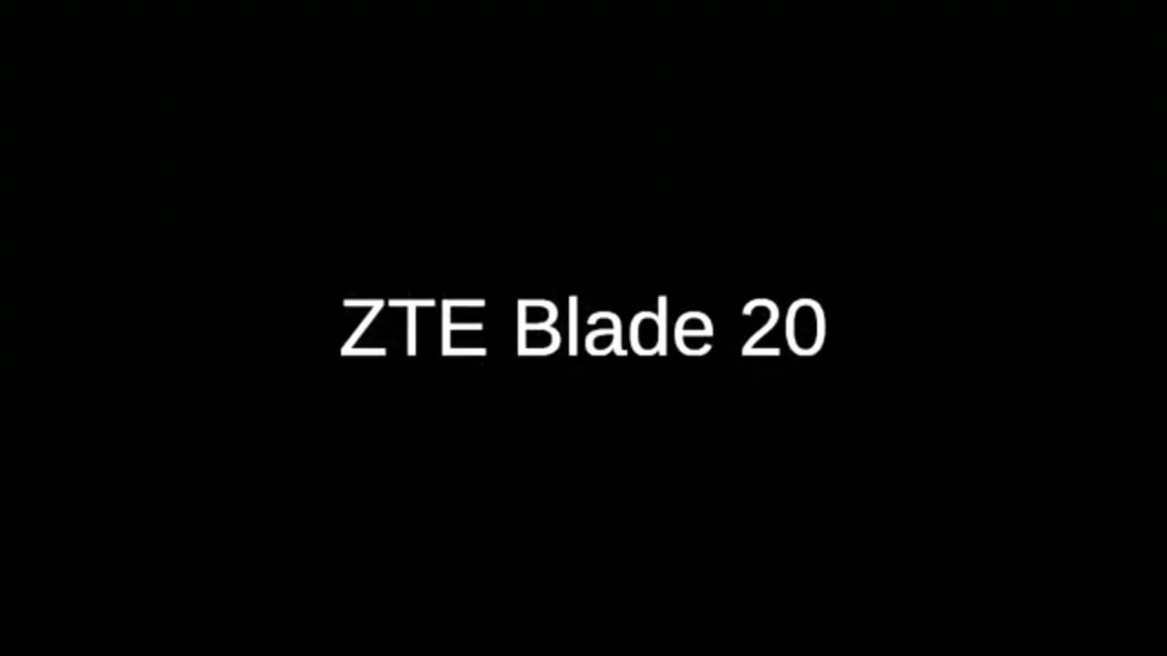Обзор смартфона ZTE Blade 20 с основными характеристиками