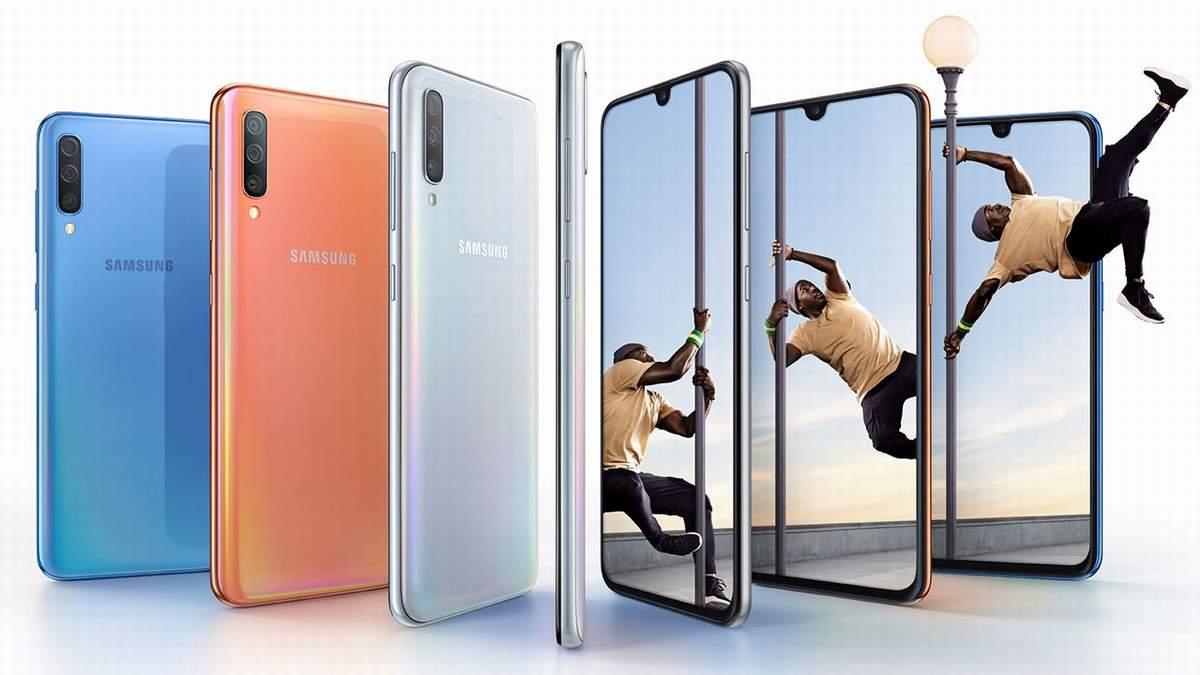 Обзор смартфона Samsung Galaxy A70s с основными характеристиками