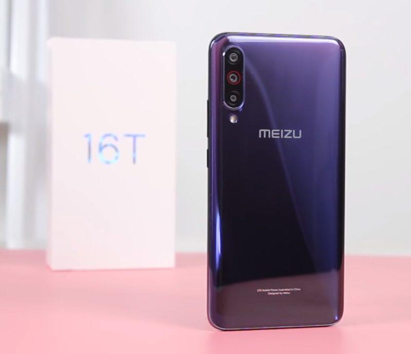 Обзор смартфона Meizu 16T с основными характеристиками