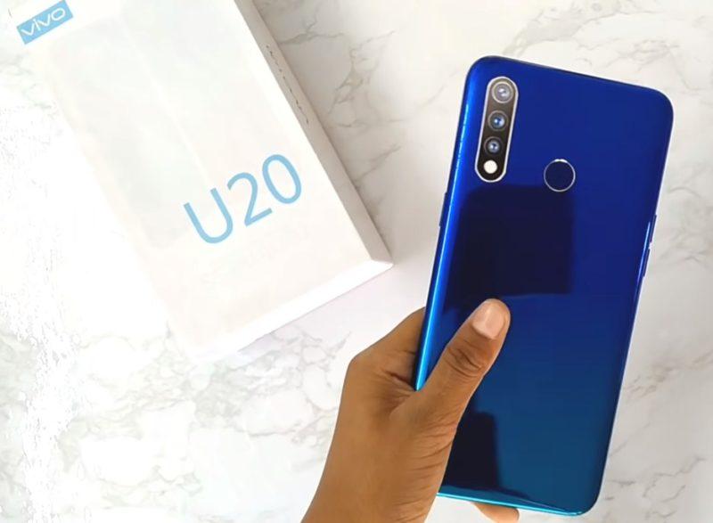 Обзор смартфона Vivo U20 с основными характеристиками