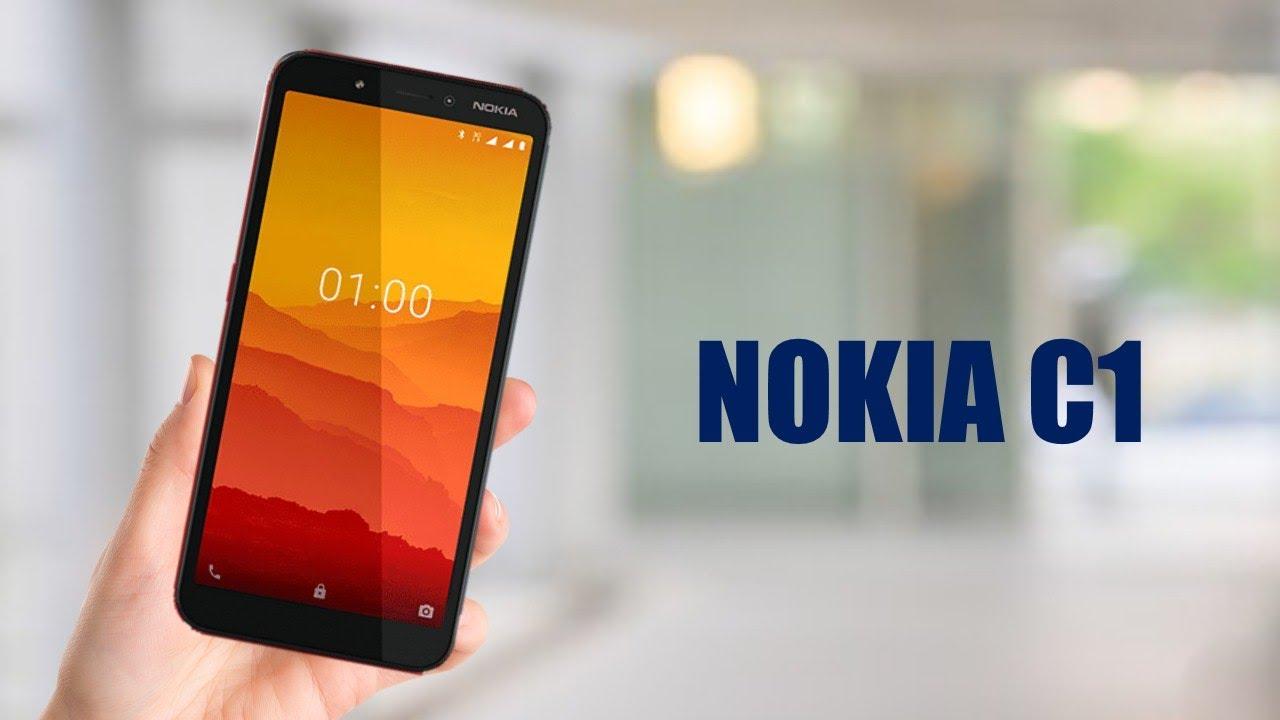 Обзор смартфона Nokia C1 с основными характеристиками