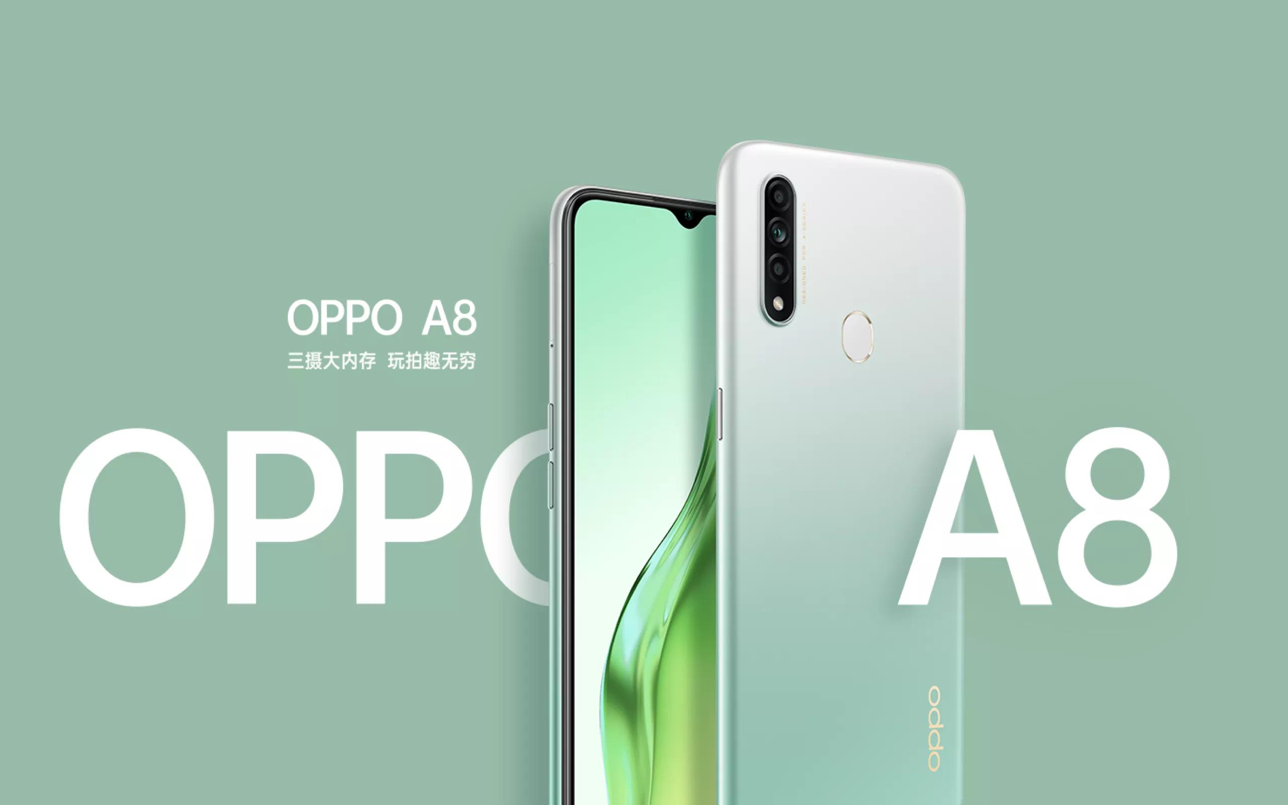 Обзор смартфона Oppo A8 с основными характеристиками