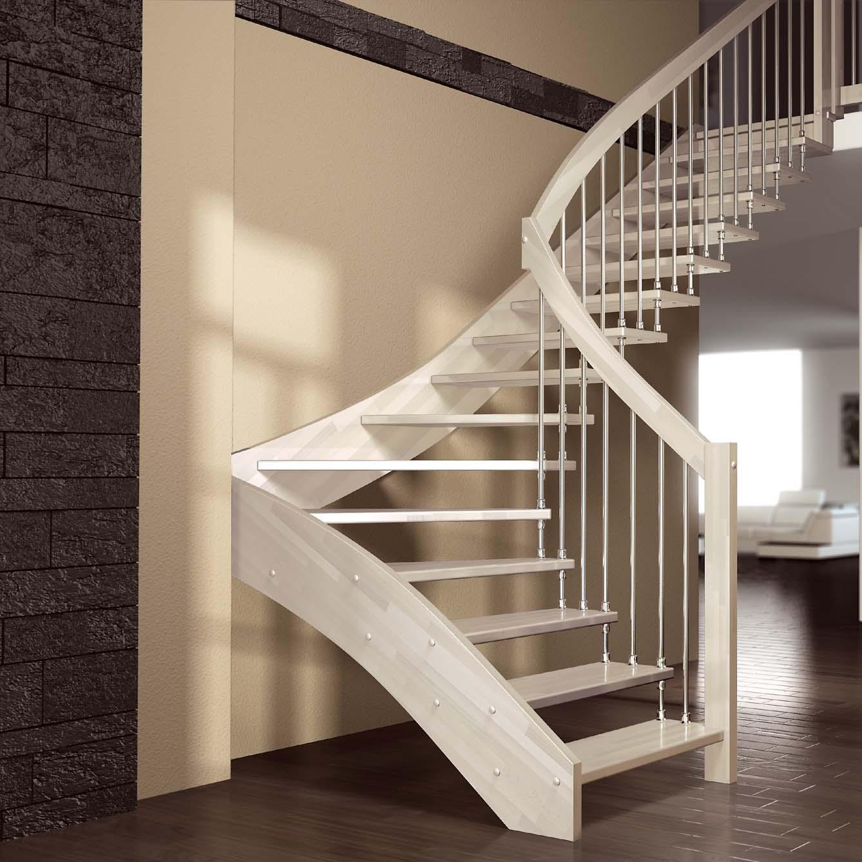 Лучшие модели лестниц в загородный дом или квартиру на второй этаж