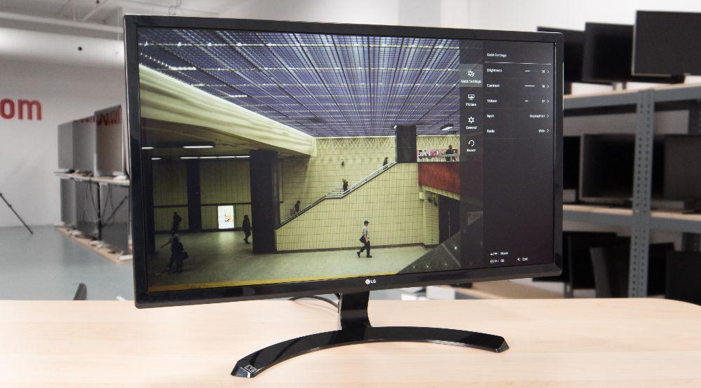Обзор монитора LG 27UD58