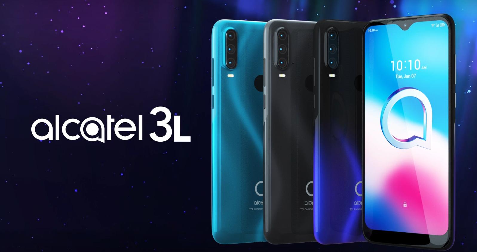 Обзор смартфона Alcatel 3L (2020) с основными характеристиками